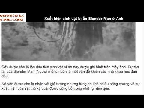 Xuất hiện sinh vật bí ẩn Slender Man ở Anh