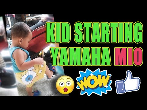 Kid Trying to Ride Motorcycle - Rances Funny Kid Video