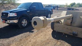 Anti-Tank Gun Vs. Truck