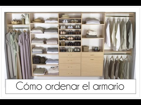 Trucos para ordenar el armario