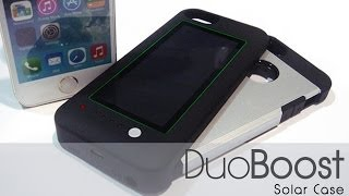 Duo Boost Solar Case Iphone 5/5s/5c Solar Charger