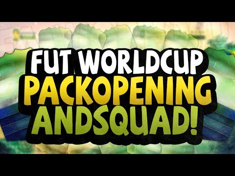 FIFA 14 FUT WORLD CUP PACK OPENING AND SQUAD BUILDER!