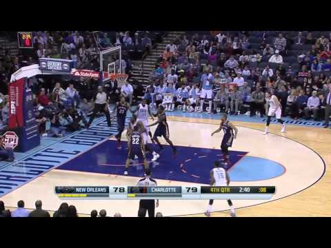 New Orleans Pelicans vs Charlotte Bobcats | February 21, 2014 | NBA 2013-14 Season