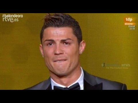 Cristiano Ronaldo Win  FIFA Ballon D'or 2013