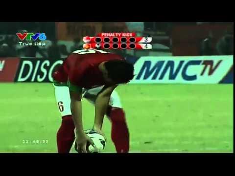 Luân lưu 11m U9 Viet Nam - U19 Indonesia ngày 22/9/2013
