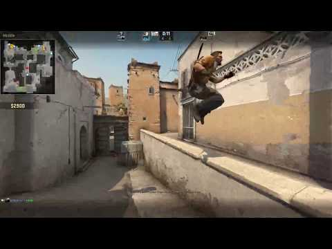 CS GO gameplay 720p 60fps