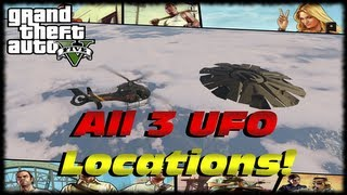 GTA 5 How To Find All 3 Flying UFO Easter Eggs In GTA V