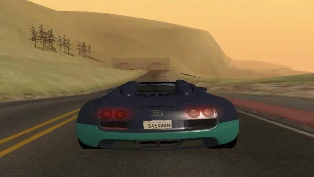 grand theft auto san andreas bugatti veyron 16 4 grand sport vitesse youtube. Black Bedroom Furniture Sets. Home Design Ideas