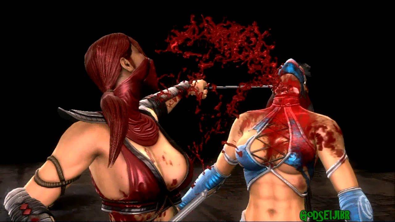 Mortal Kombat  All Jade Fatalities MK3 COSTUME   YouTube
