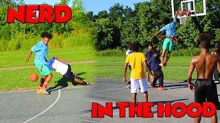 NERD Plays Basketball In The HOOD !!!