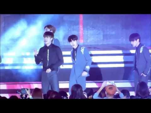 HD Fancam 140928 EXO K   Growl @ Hallyu Dream Festival 2014