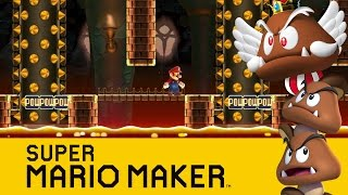 Super Mario Maker : Wrath of the Goomba King!