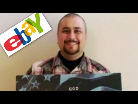 "George Zimmerman Sells ""Painting"" On EBay"