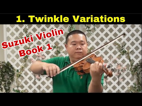 Suzuki Violin School - Vol.1 - Twinkle Variations