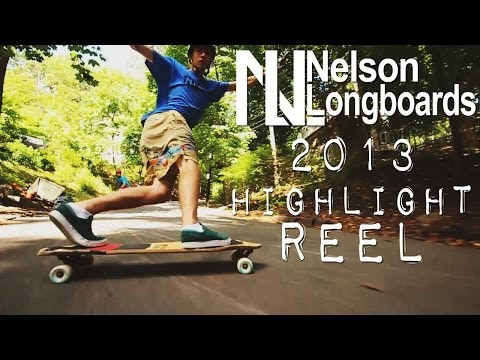 Nelson Longboards 2013 Highlight Reel
