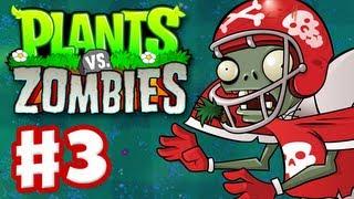 Plants Vs. Zombies Gameplay Walkthrough Part 3 World 2