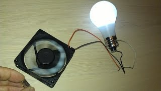 Free Energy Magnet Motor fan used as Free Energy Generator