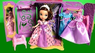Sofia The First Portable Princess Closet Wardrobe Review