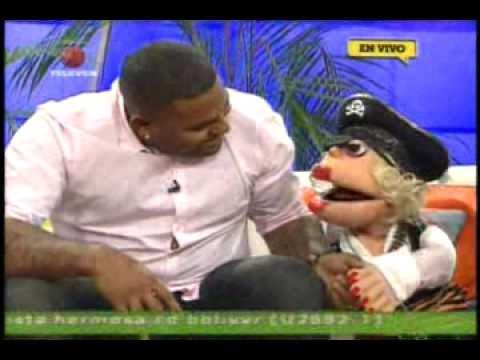 Pablo Sandoval (Kung Fu Panda ) en La Bomba (Televen)