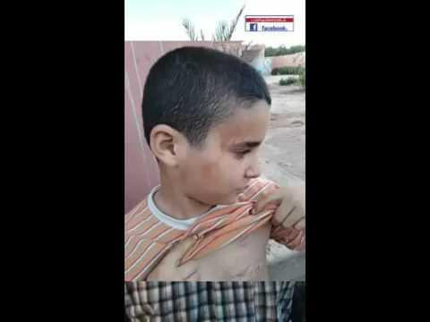 مواطن مغربي وابنه يتعرضان لعنف السلطات المحلية بهوارة