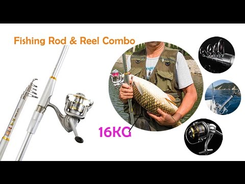 Fishing Rod & Reel Combos Ultralight Baitcasting Fishing Pole Epacket Freeshipping!