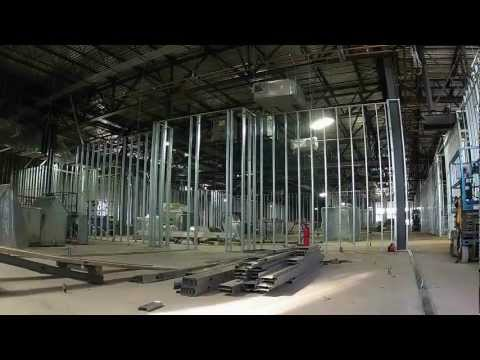 Steel Stud Wall Framing Construction  HD