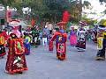 Los Chinelos De Morelos En El Festejo A Santiaguito