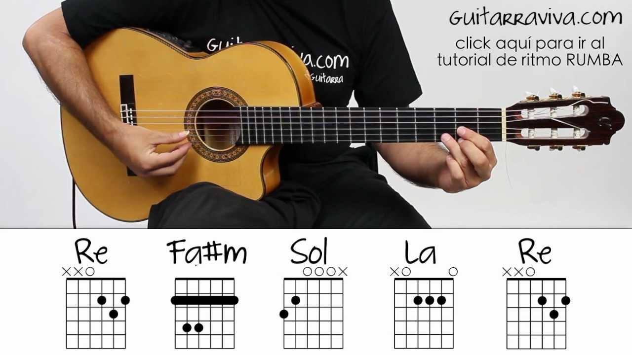 Noches de Bohemia Guitarra Acordes Facil tutorial como