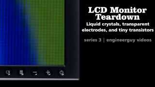 LCD Monitor Teardown