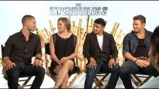 """The New """"Expendables 3"""" Cast Talks About The Movie"""