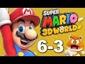 Super Mario 3D World 6-3 Gameplay Footage with Mario, Toad, Peach, & Luigi