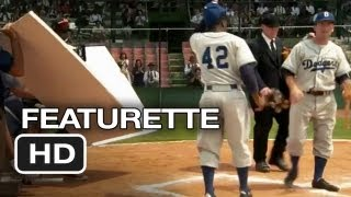 42 Featurette (2013) Jackie Robinson Movie HD