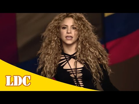 Shakira - La La La (Brasil 2014) (Spanish Version) ft. Carlinhos Brown [Lyrics]