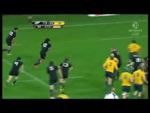 Wallabies v All Blacks Highlights - August 28, 2011