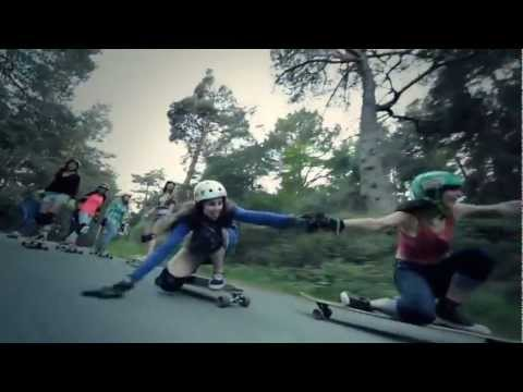 "Street Rapper DUB FX and Ron Paul - He has Already ""Made It"" - Lyrics with Skateboarding Females"