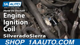 How To Install Replace Engine Ignition Coil Silverado