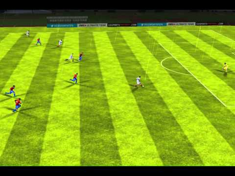 FIFA 14 iPhone/iPad - Chile vs. Peru