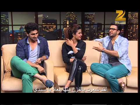 Priyanka Chopra, Ranveer Singh & Arjun Kapoor on Aalam Bollywood - part 1