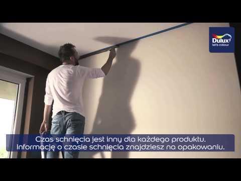 Maluj z Duluxem. Technika malowania sufitów i ścian.