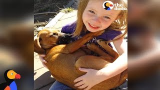 Girl Sings Lullaby to Puppy Her Family Just Adopted | The Dodo