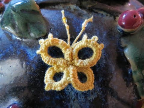 Needle Tatting Butterfly
