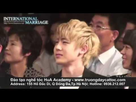 dạy cắt tóc Style teen Boy Hàn, Kiểu tóc nam Hàn quốc đẹp teenboy 2PM Nichkhun