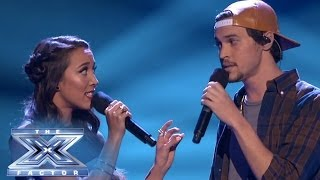 "Alex & Sierra Speak Loudly With ""Little Talks"" THE X"