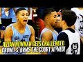 Crowd STORMS the Court after Julian Newman Gets CHALLENGED at NEO Elite