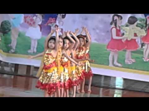 Múa Alibaba lớp 5 tuổi trường mầm non An Thái Hải Phòng