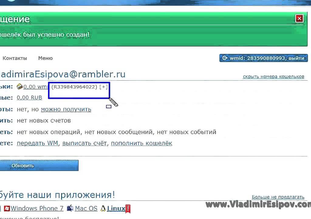 Способы вывода webmoney (вебмани)