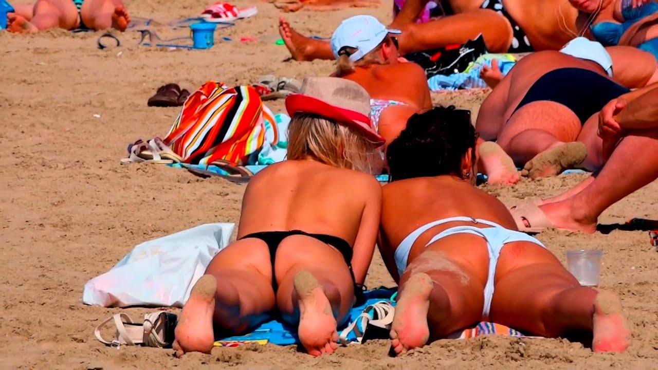 Секс на нудистких пляжах видео онлайн