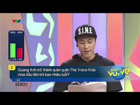 Bữa trưa vui vẻ cùng Quang Anh quán quân Giọng hát Việt Nhí 2013 - 17/8/2014