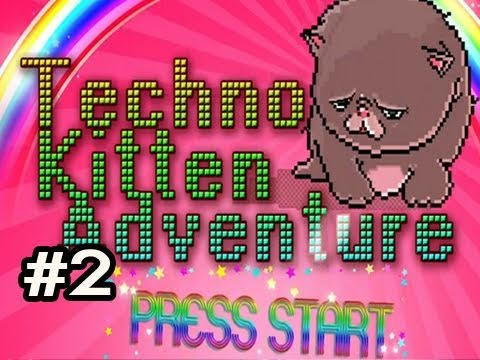 Techno Kitten Adventure: Indie Game w/Nova #2 Butterfly & Dream Kittehs
