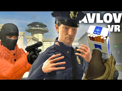 WE BRIBED OUR WAY OUT OF VIRTUAL REALITY PRISON (Pavlov VR Funny Moments)